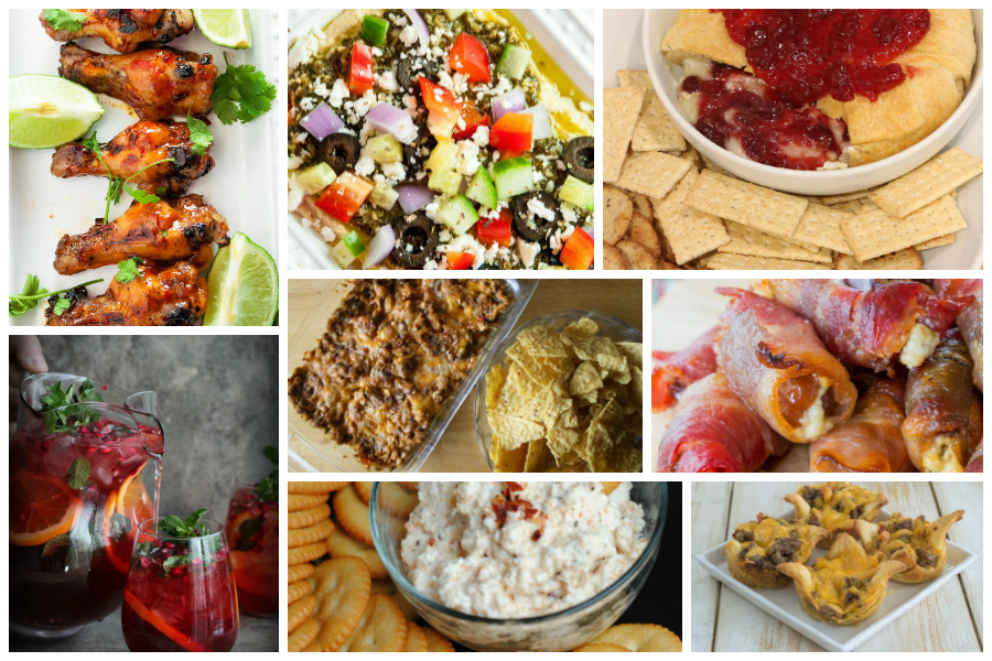 New Year's Eve Party Appetizers - a collection of host-favorite recipes from the Delicious Dishes recipe party