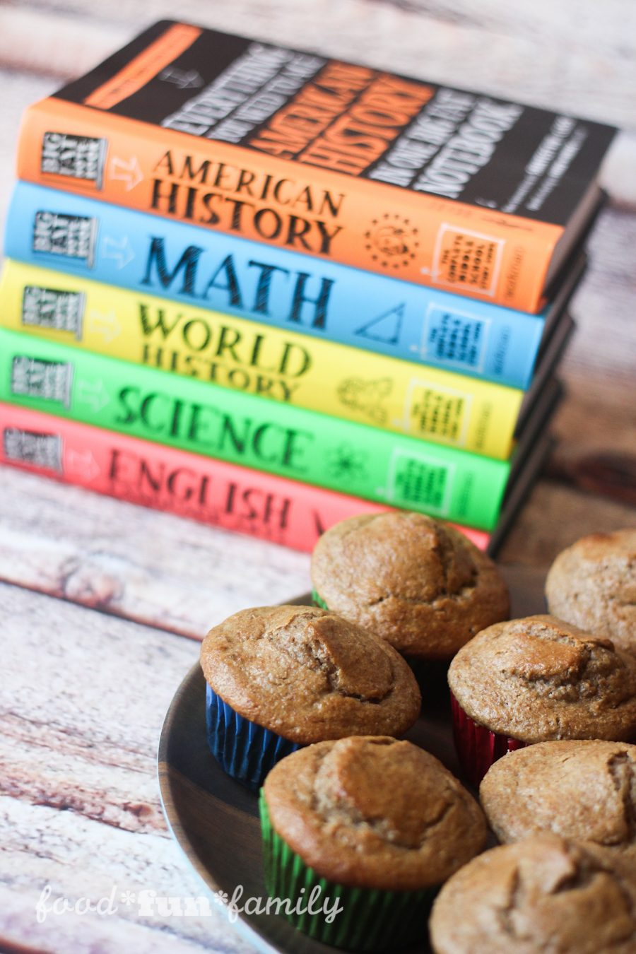 Banana Bran Muffins - the perfect after-school fuel for study time