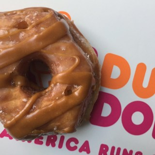 Caramel Apple Croissant Donut + Dunkin' Donuts Giveaway