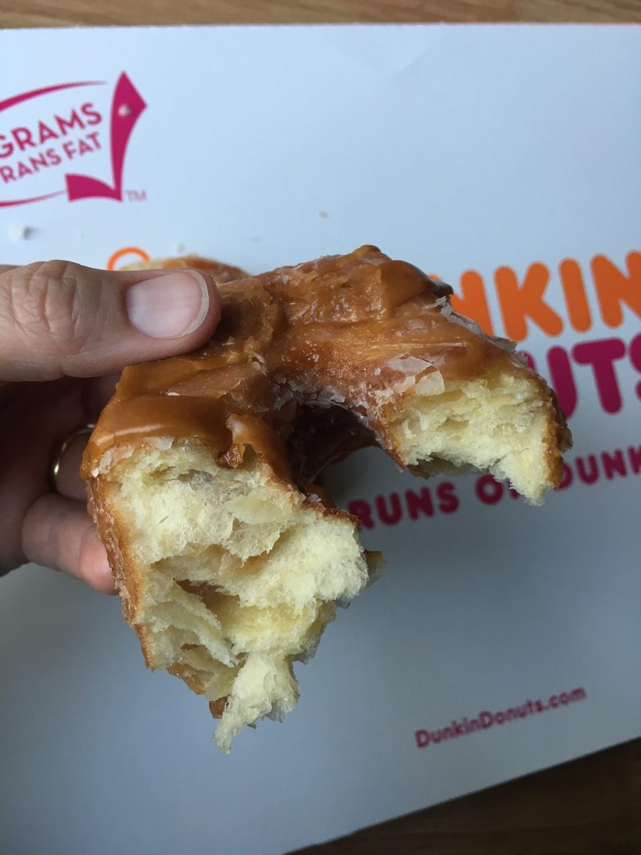 Caramel Apple Croissant Donut at Dunkin' Donuts