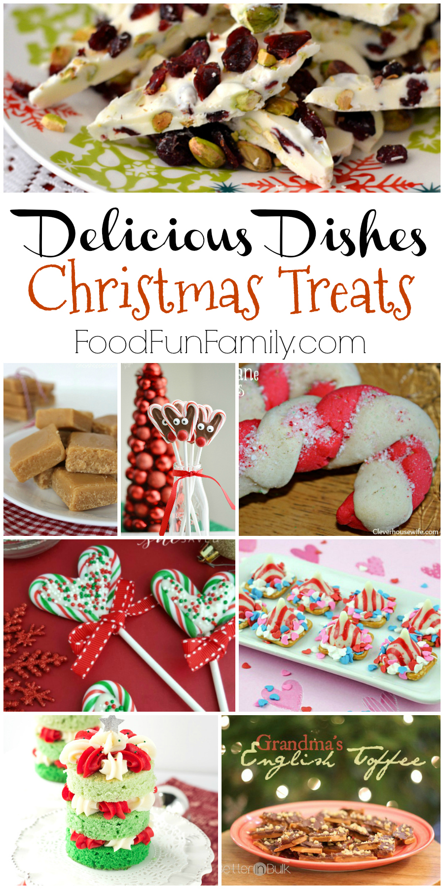 Fun and festive recipes for last-minute Christmas treats from the Delicious Dishes bloggers!