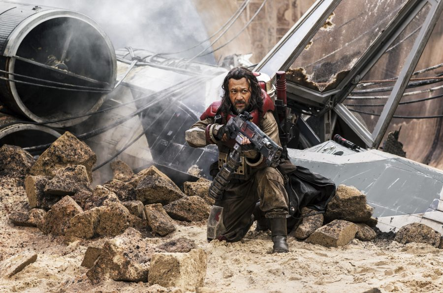 Rogue One: A Star Wars Story. Baze Malbus