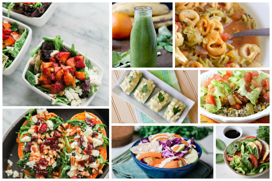 Light and Healthy recipes for the New Year from the hosts of the Delicious Dishes Recipe Party at FoodFunFamily.com