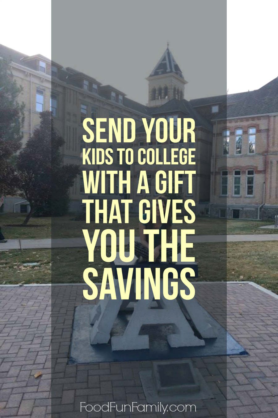 Send Your Kids to College with a Gift that Gives You the Savings