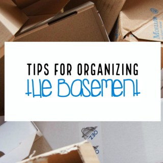 Tips for Organizing a Basement