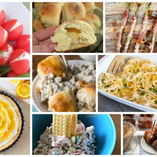 Delicious Dishes Easter and Spring recipes from Food Fun Family. This collection of recipes is perfect for all of your spring time celebrating or family dinners!