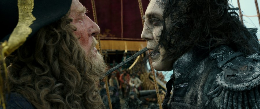Pirates of the Caribbean: Dead Men Tell No Tales - Exclusive Interview with Javier Bardem on his role as Captain Salazar