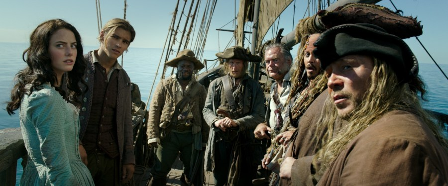 Kaya Scodelario as Carina Smyth in Pirates of the Caribbean Dead Men Tell No Tales