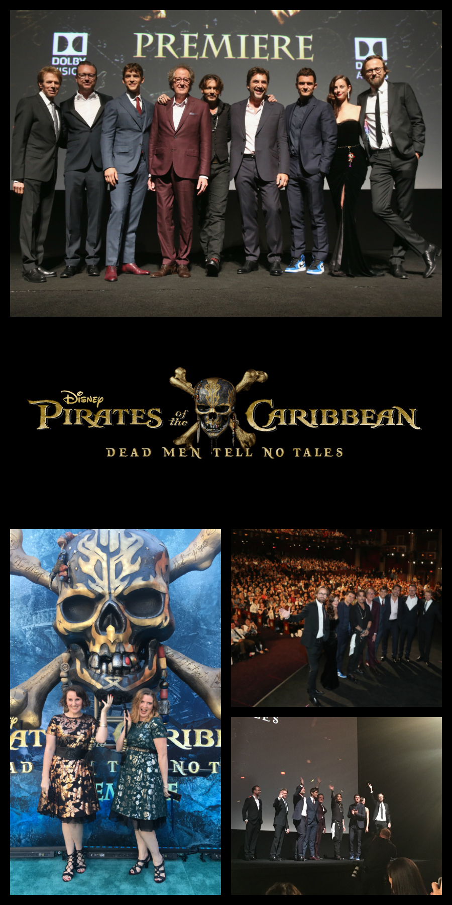 Pirates of the Caribbean: Dead Men Tell No Tales Hollywood premiere
