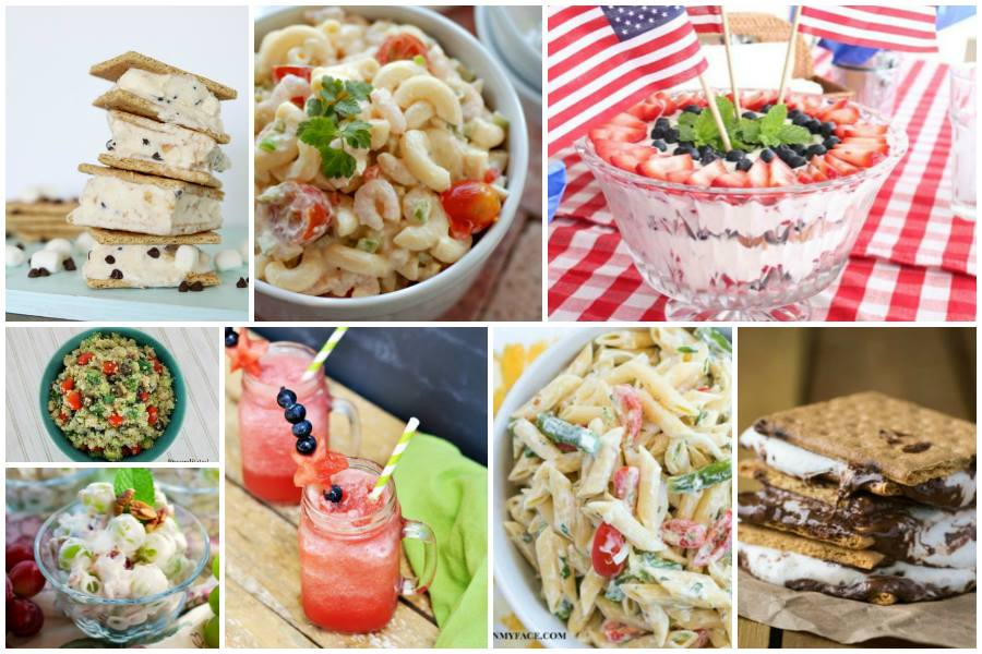 Easy Picnic Foods - from salads to finguer foods to desserts! From Food Fun Family and the Delicious Dishes bloggers!