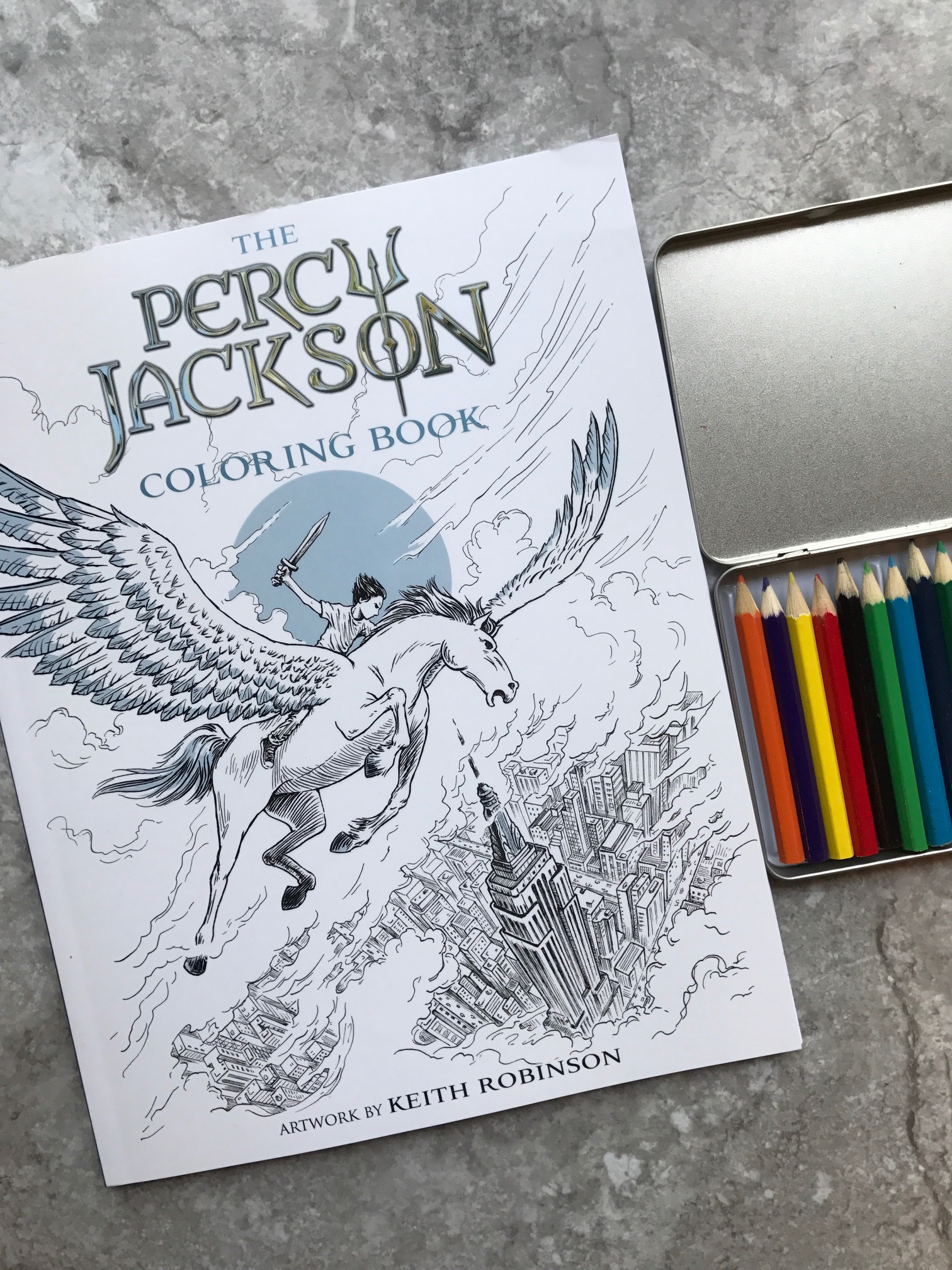 The Percy Jackson Coloring Book Pjcoloringbook