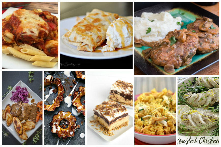 The Best of Fall Comfort Food - a Delicious Dishes Recipe Party from Food Fun Family