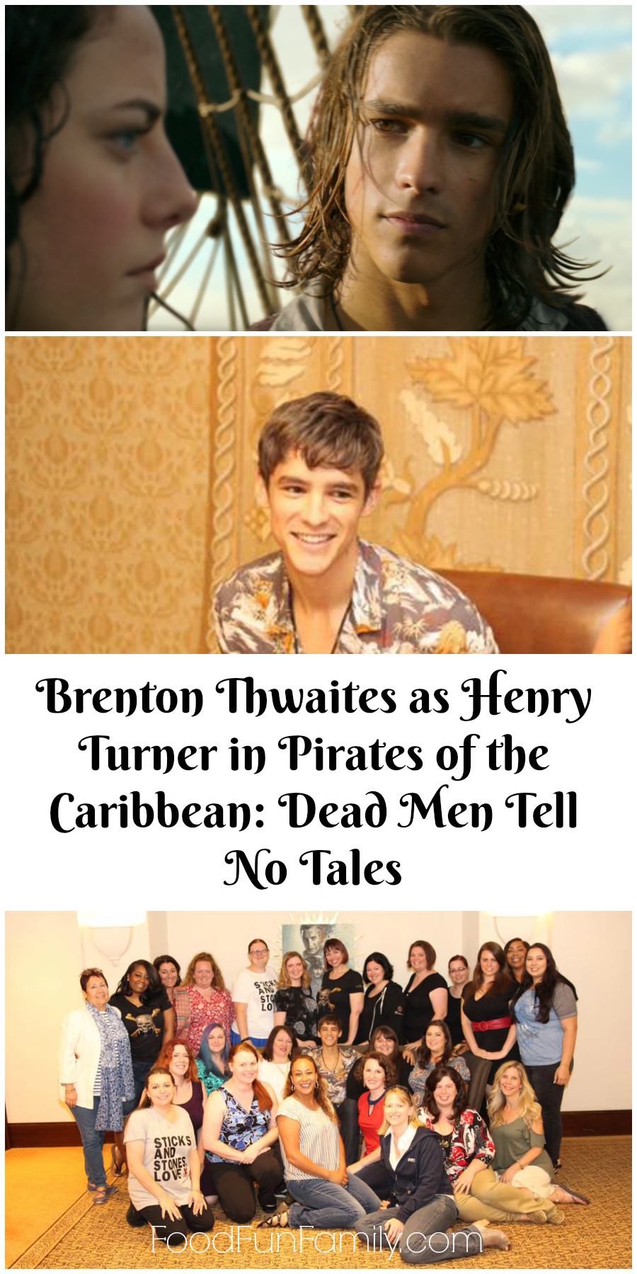 Exclusive Interview Brenton Thwaites as Henry Turner in Pirates of the Caribbean Dead Men Tell No Tales