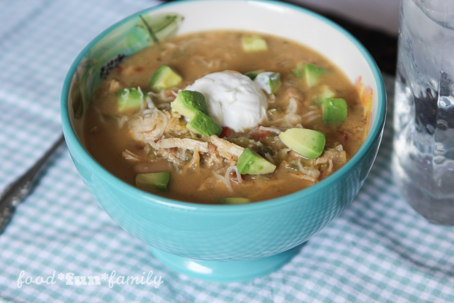 Creamy Verde Chicken Chili