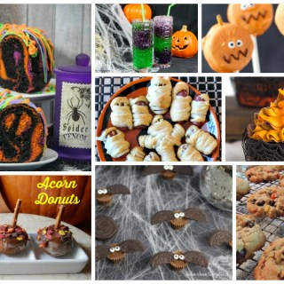 Halloween party treats - perfect for class parties and Halloween get togethers with family and friends