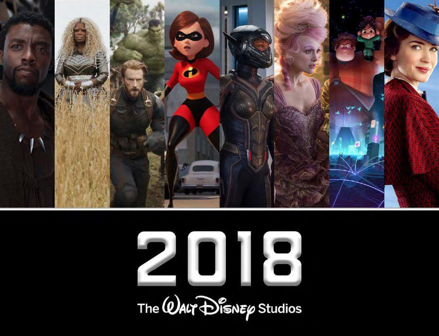 2018 Walt Disney Studios Motion Picture Slate