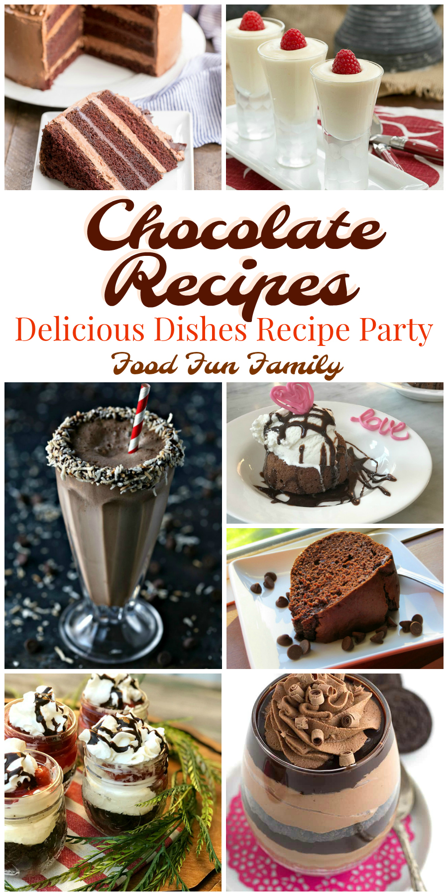 Chocolate Recipes - Delicious Dishes Recipe Party at Food Fun Family