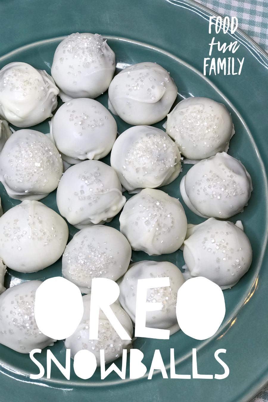 Oreo Snowballs
