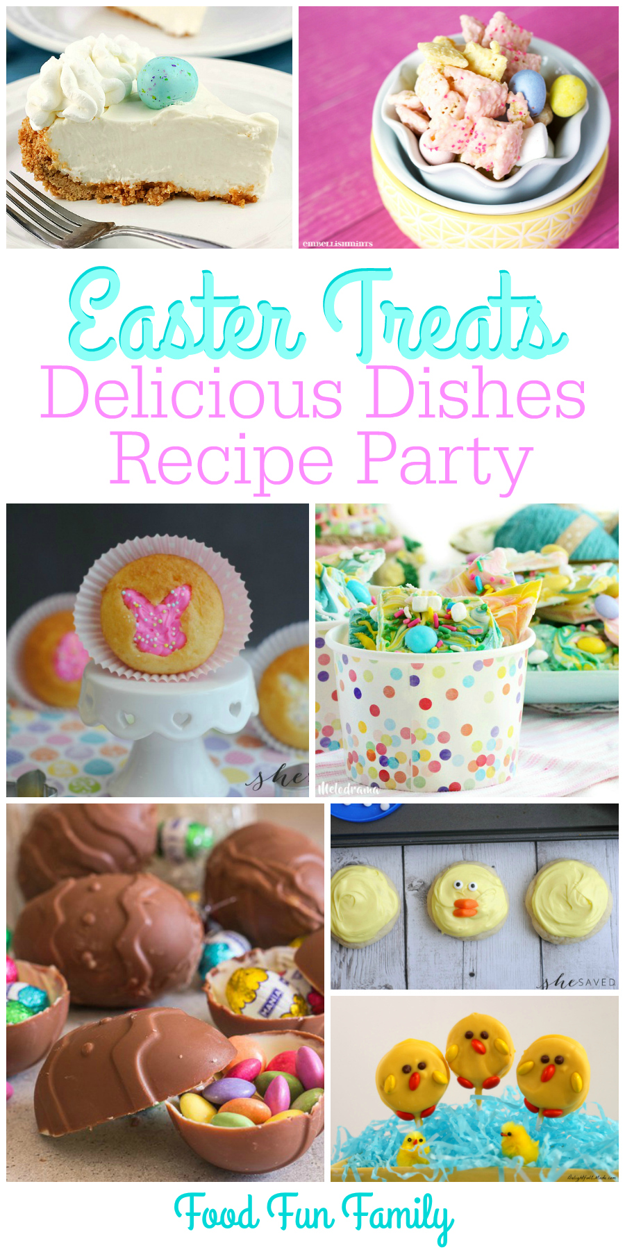 Easter Treats - A Delicious Dishes Recipe Party Collection from Food Fun Family