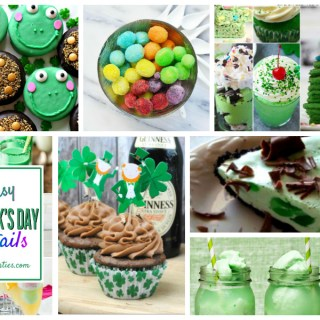 Fun Green treats for St. Patrick's Day - a Delicious Dishes recipe party