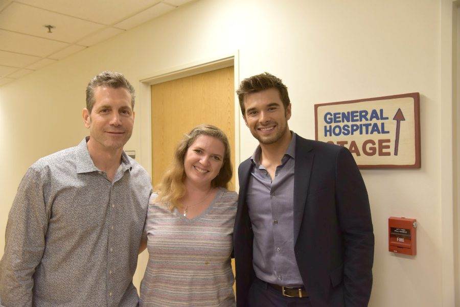 General Hospital 55th anniversary set visit
