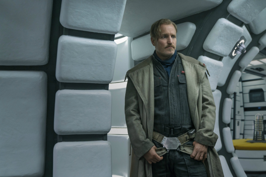 Woody Harrelson is Beckett in SOLO: A Star Wars Story #HanSoloEvent