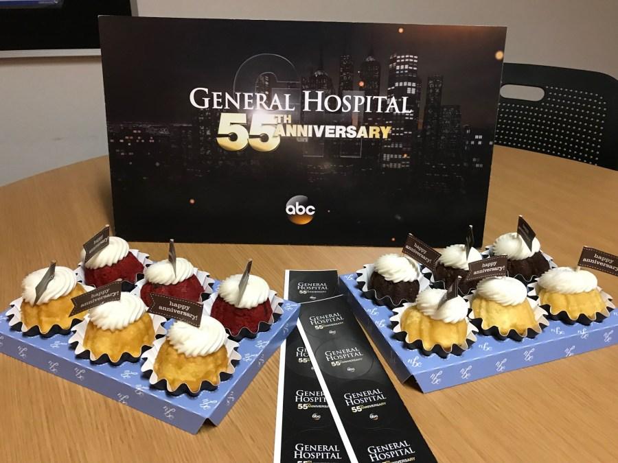 General Hospital 55th anniversary set visit