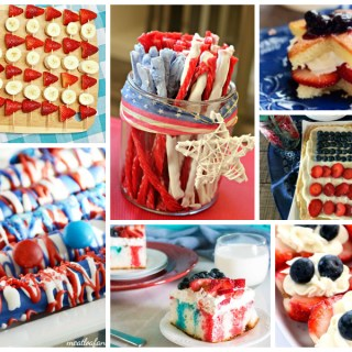 Red, White & Blue Favorites – a Delicious Dishes Recipe Party Collection