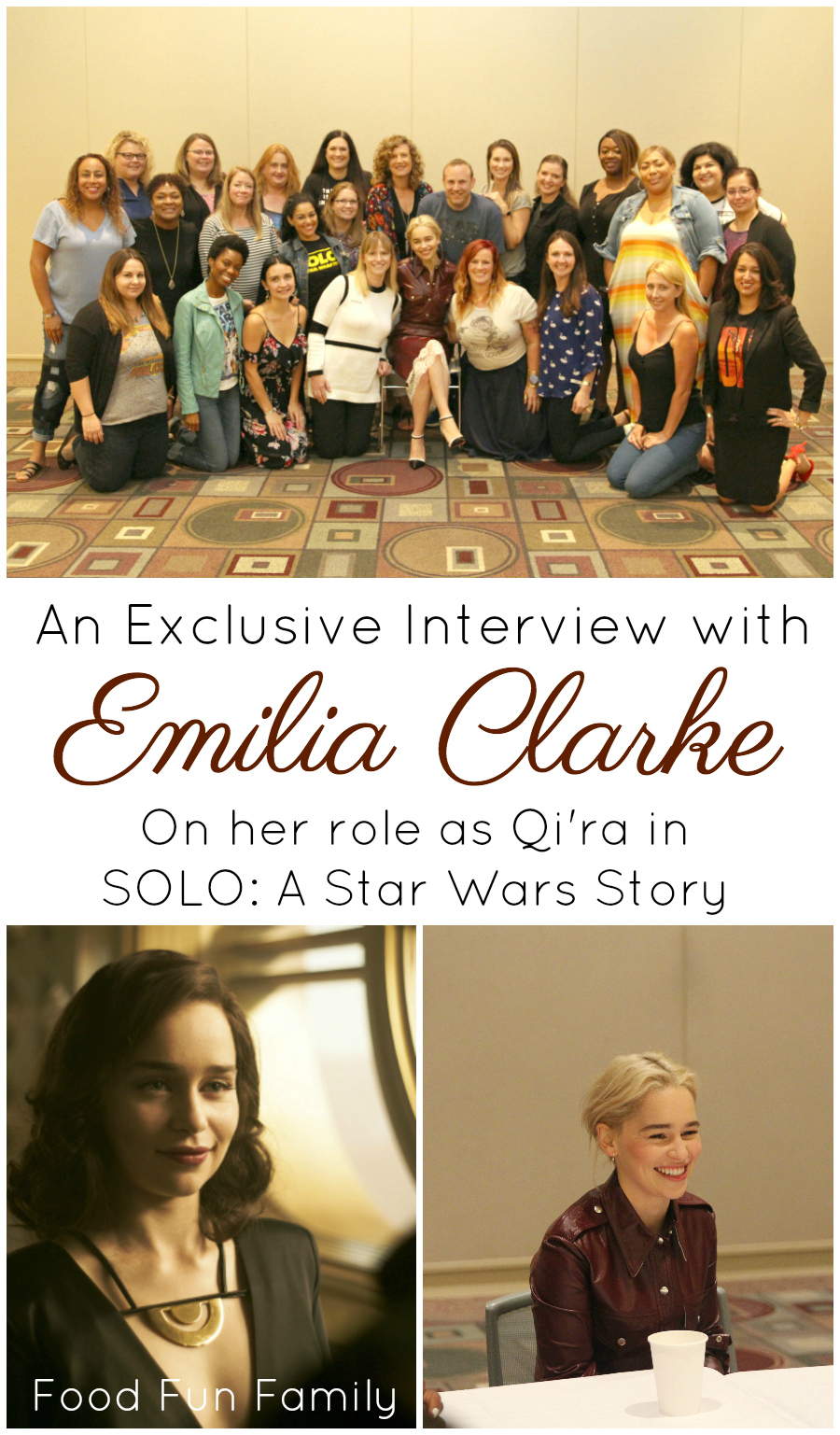 Emilia Clarke: An Exclusive Interview with Qi'ra from SOLO ...