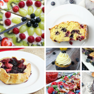 Summer Blueberry Recipes – Delicious Dishes Recipe Party #124