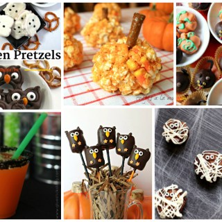 Easy Halloween recipes - fun and festive fall treats - a Delicious Dishes Recipe Party with Food Fun Family