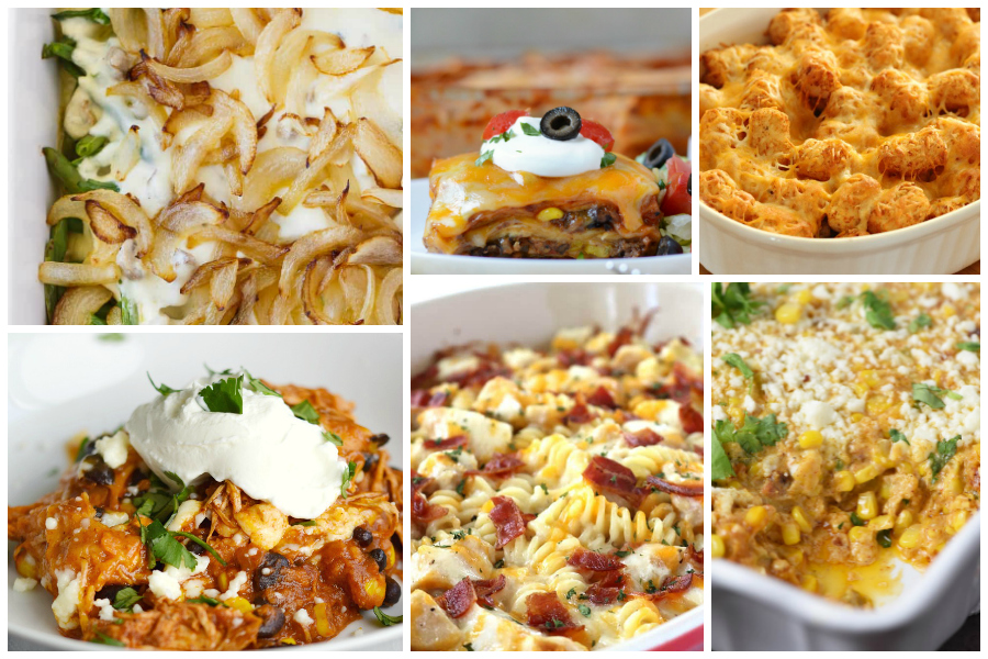 Family favorite casseroles - a Delicious Dishes Recipe Party collection by Food Fun Family