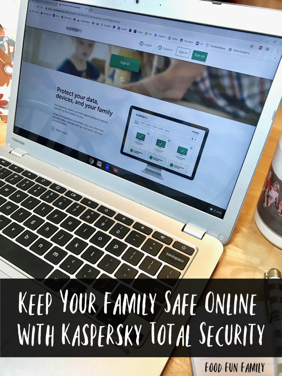 Keep Your Family Safe Online With Kaspersky