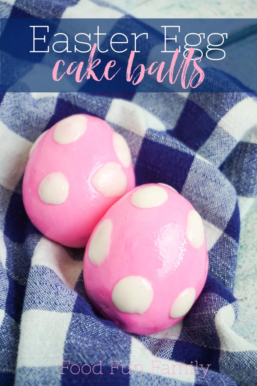 Easter Egg Cake Balls Recipe