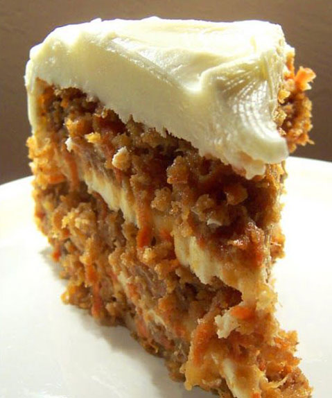 Carrot Cake With Butter Not Oil And  Eggs