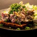 tunsalat med skyr opskrift