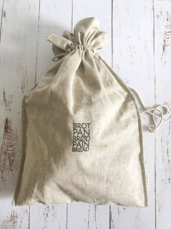 Klassisk fransk bondebrød i brødpose fra Betty Jacoby Design