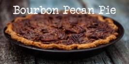 Bourbon pecan pie – en amerikansk klassiker