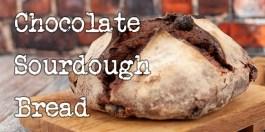 Chocolate Sourdough Bread recipe