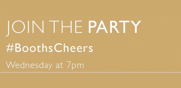 Join The Party #BoothsCheers
