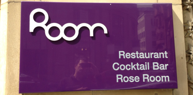 Room, King Street, Manchester. Not Really A Review, But I Like It!