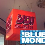 Yo! Sushi Blue Mondays