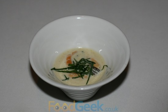 Poached Mussels, Yuzu, Samphire & Ginger