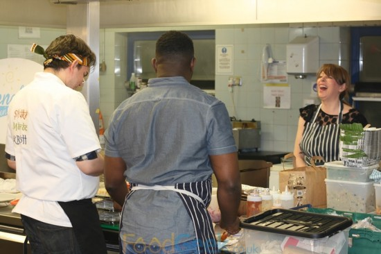 Contestants In The Kitchen