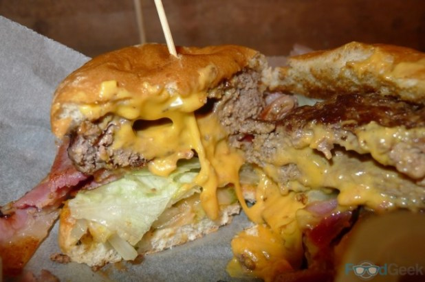 'Inside The Juicy Lucy'