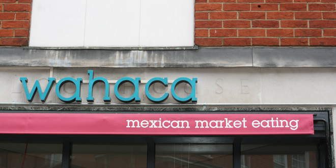 Breakfast @ Wahaca, Oxford Circus, London