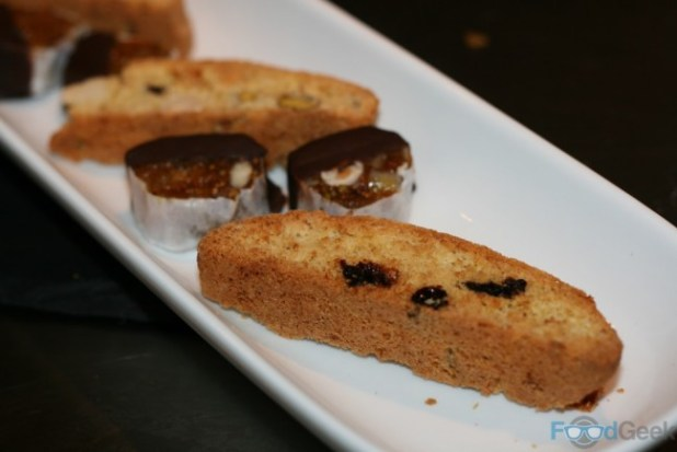 Biscotti / Chocolate fruit salami