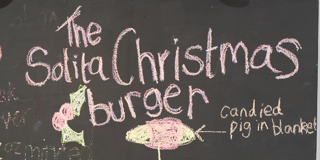 The Solita Christmas Burger 2015 (And NQ Refurb)