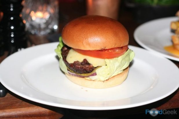Hawksmoor Hamburger