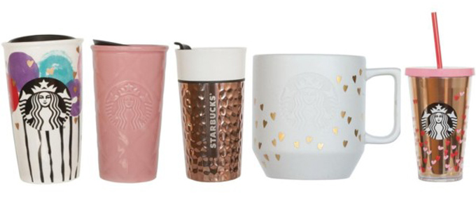 Starbucks Valentines Day Gift Guide 2017 Foodgressing